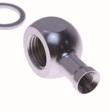 Spezialanschluss für Bremsleitungverlängerung Typ 970  silber