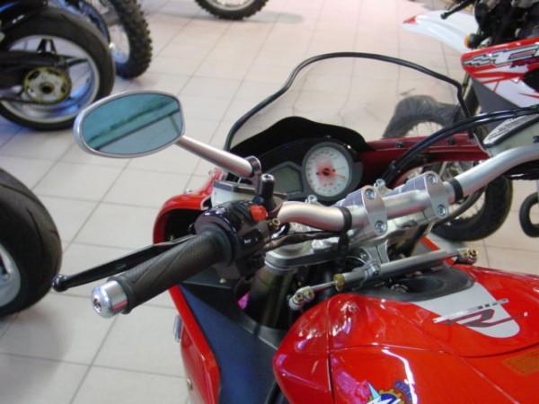 Superbike Umbau komplett F4 750 - F4 1078RR (GM40) schwarz, Lenker silber, Anschluss silber, Leitung