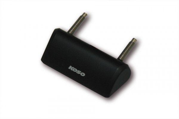 KOSO Mini LED-Nummernschildbeleuchtung, schwarz, E-geprüft.