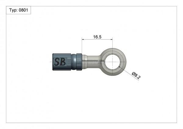 Ringfitting K-Ø14 Vario Typ 0801 Ø08mm 0°#varinfo