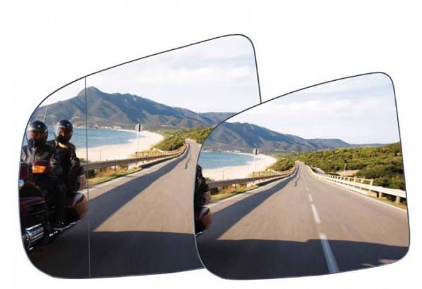 Safer View (links) Blendarme Beschichtung