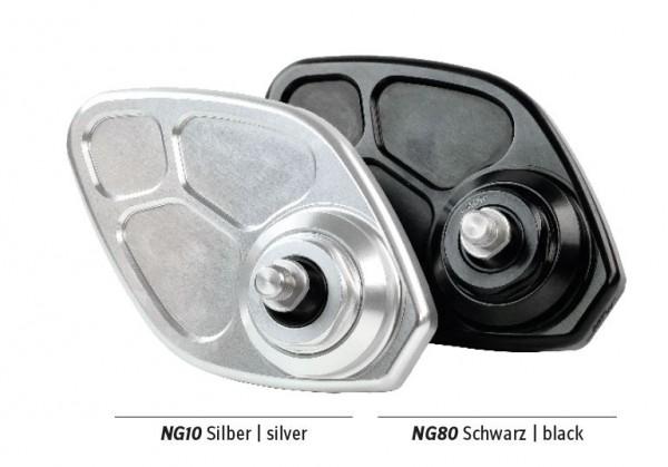 kleiner Spiegel MV4 silber glänzend