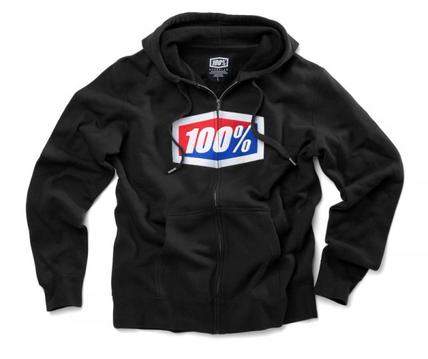 100 percent Zip Hoody Official