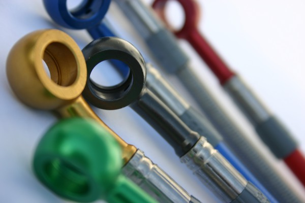 Stahl-Flex Bremsleitungskit inkl. Vert. #varinfo
