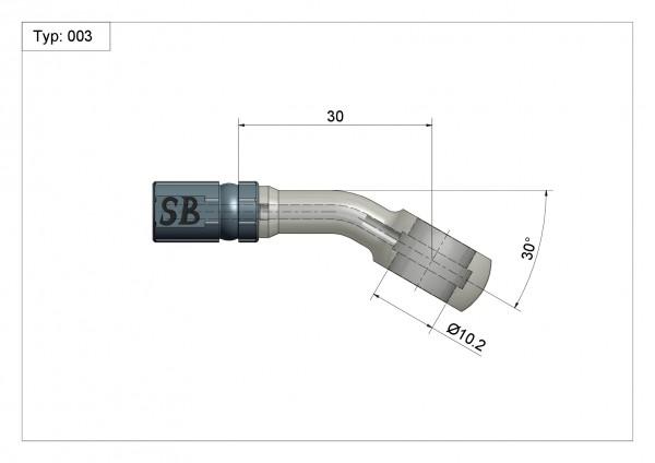 Ringfitting Vario Typ 003 10mm #varinfo