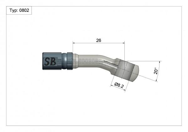 Ringfitting K-Ø14 Vario Typ 0802 Ø08mm 20°#varinfo